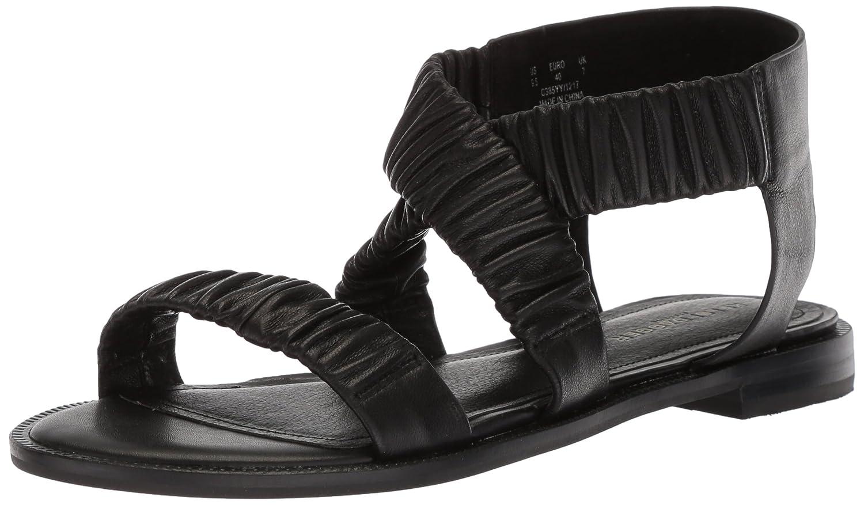 Kelsi Dagger Brooklyn Women's Ryder Flat Sandal B074XF3S9Y 6.5 B(M) US|Black