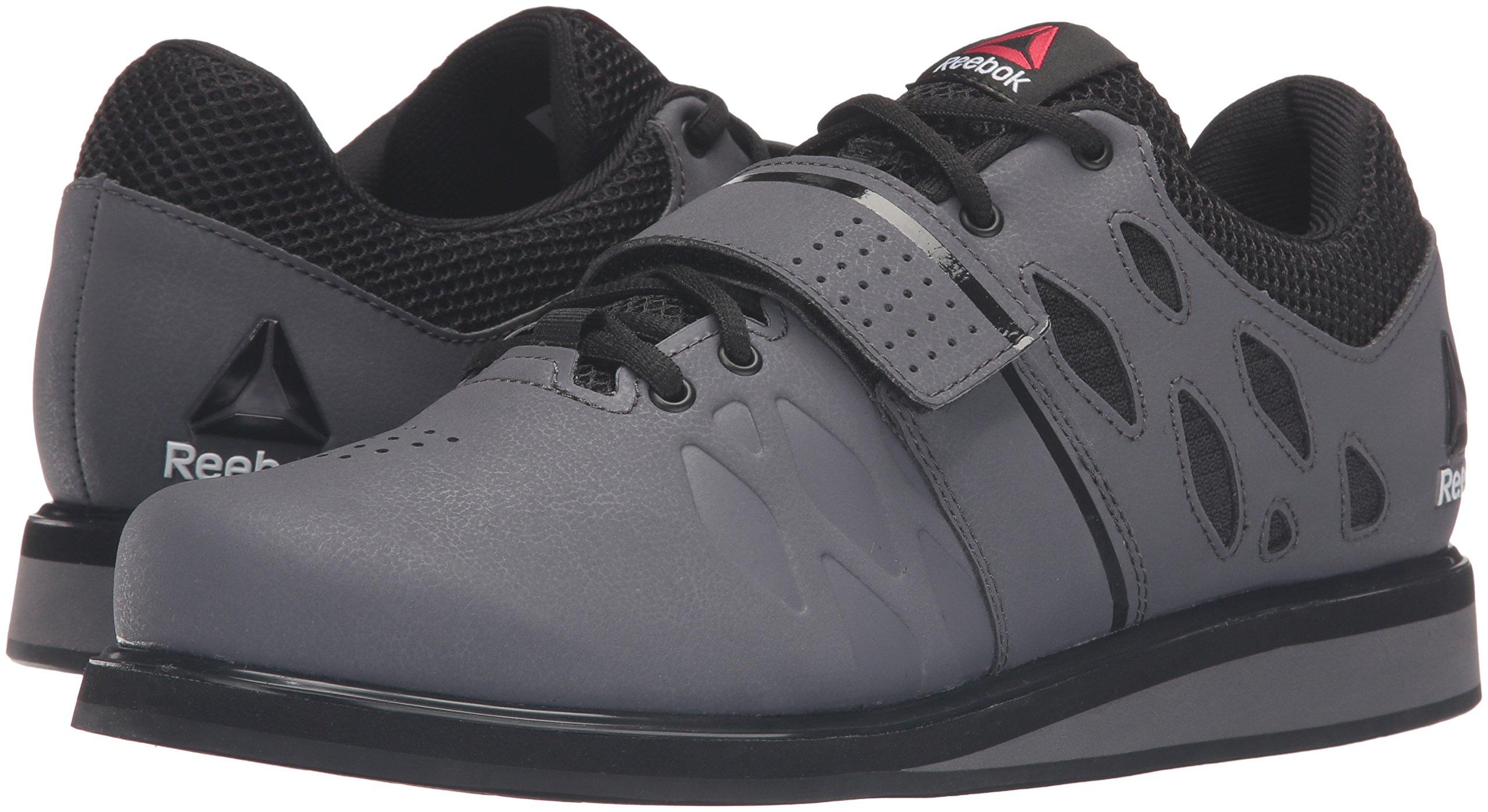 Reebok Men's Lifter Pr Cross-Trainer Shoe, Ash Grey/Black/White, 7 M US by Reebok (Image #6)