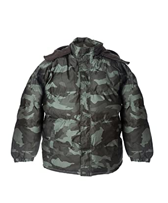 06c831f8721d Amazon.com  Polar Ice Big Boys  Warm Puffer Coat Camouflage Hooded ...