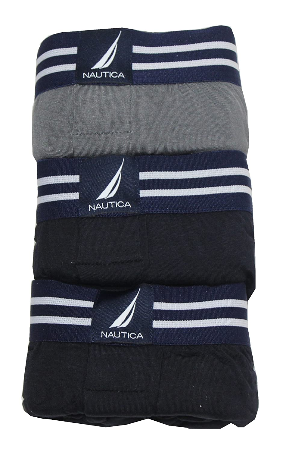 Nautica Mens Boxer Modal Cotton Fit Boxer with Functional Fly Tagless, ...