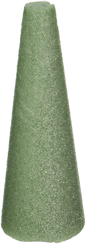 Styrofoam Cone 8X3 1/Pkg-Green Notions - In Network 350558