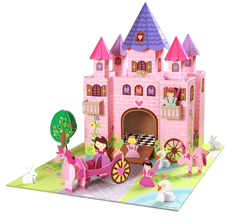 Prinzessin Schloss - Kroom Feenschloss Trinny aus Pappe