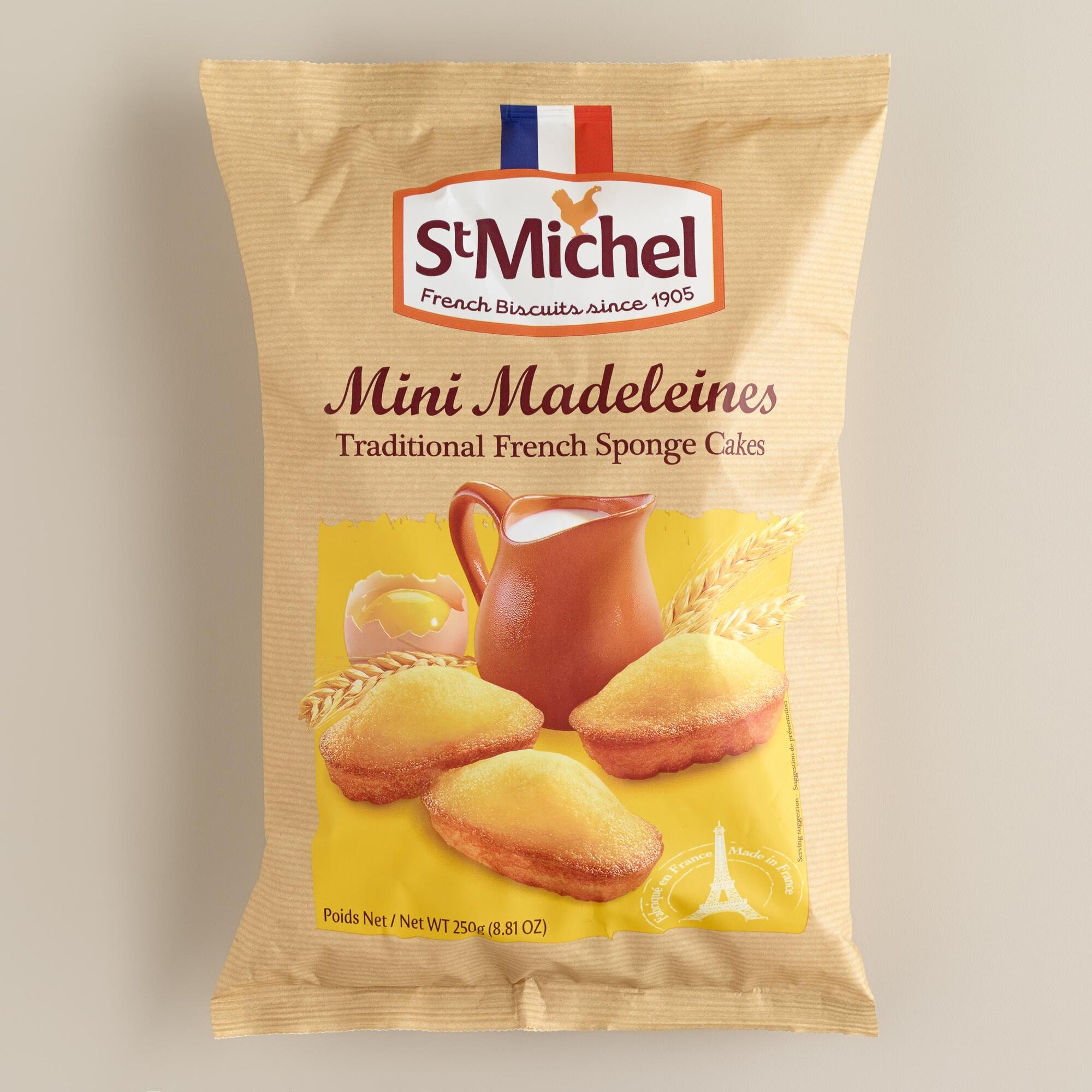 Traditional French Sponge Cake St. Michel Madeleines 8.8oz