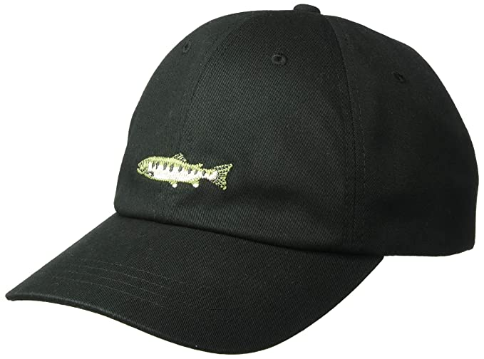 85d9bba2 Amazon.com : Columbia Unisex Bonehead II Hat, Black, Trout, One Size :  Clothing