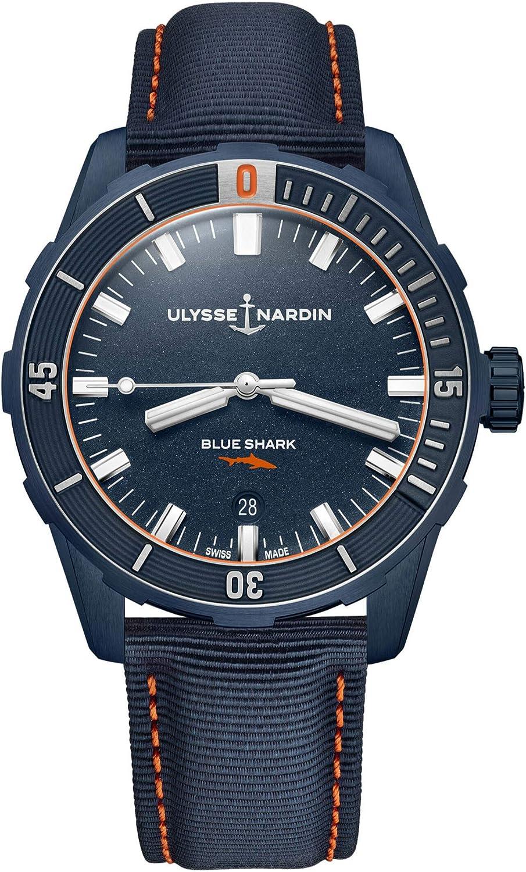 Ulysse Nardin Diver Blue Shark Limited Edition 42 mm 8163-175LE/93-BLUESHARK