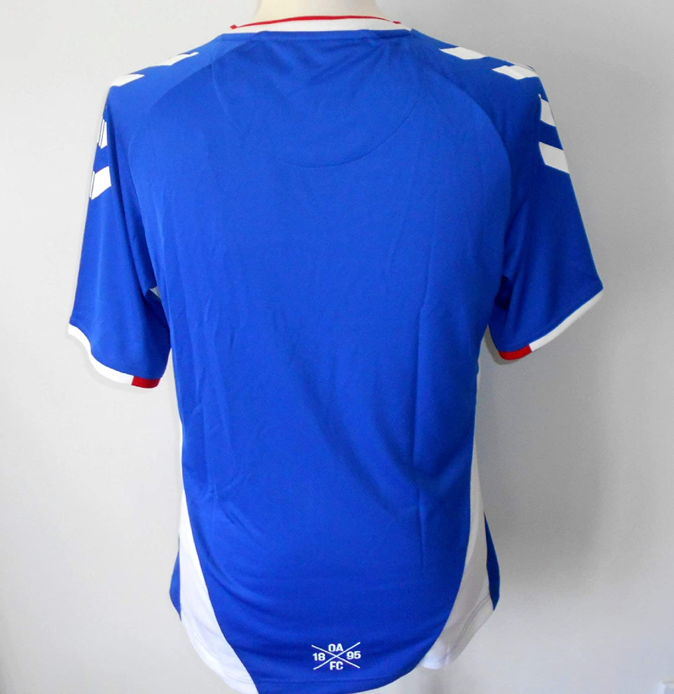 Oldham Athletic FC Mens Home Football Shirt 2019-2020