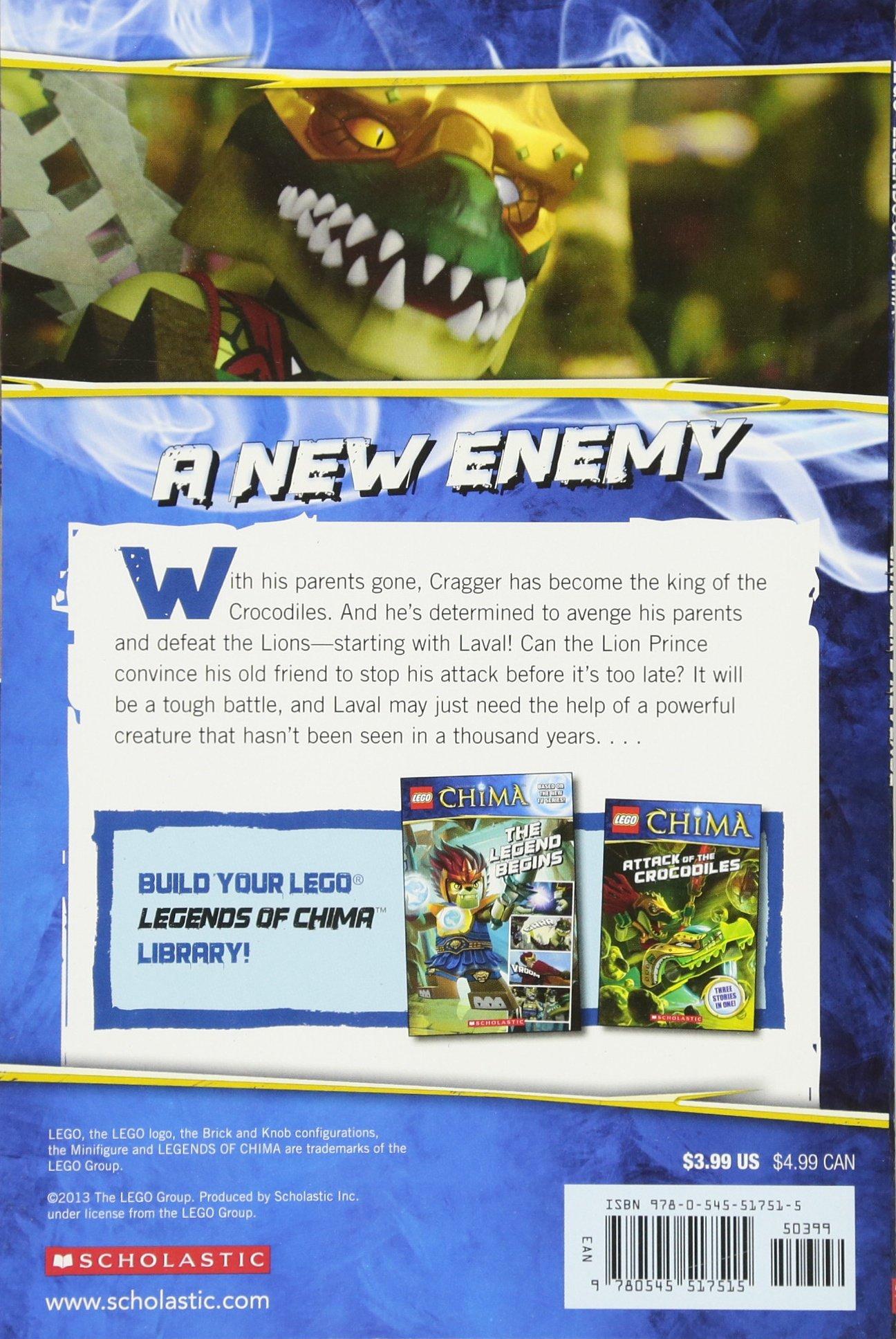 Amazon chima party supplies - Lego Legends Of Chima Cragger S Revenge Comic Reader 2 Trey King 9780545517515 Amazon Com Books