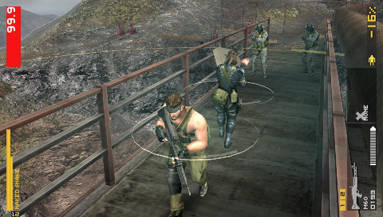 Resultado de imagen para Metal Gear Solid Peace Walker psp