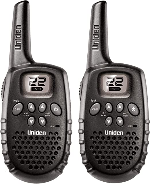 Amazon Com Uniden Gmr1635 2 Up To 16 Mile Range Frs Two Way Radio Walkie Talkies 22 Channels With Channel Scan Battery Strength Meter Roger Beep Discontinued By Manufacturer Replaced By Uniden Sx167 2c