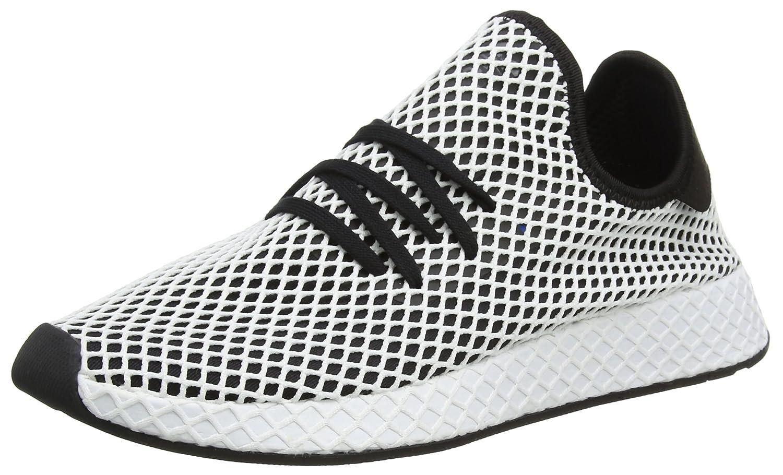 Adidas Deerupt Runner, Zapatillas de Gimnasia para Hombre 36 EU|Negro (Core Black/Core Black/Ftwr White)