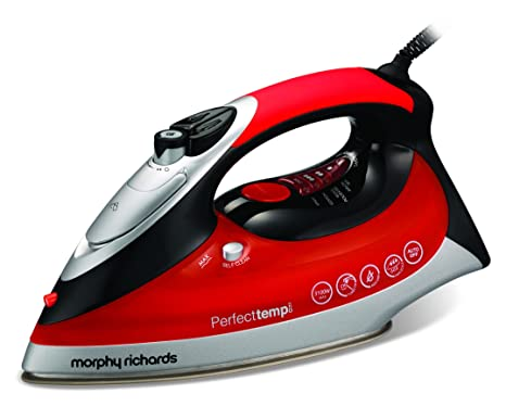 Morphy Richards 300002 Perfect Temp Steam Iron - Red by Morphy Richards