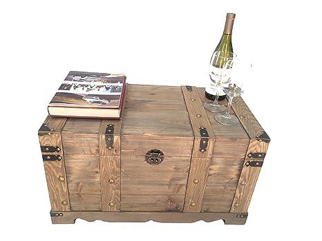 Amazon.com: Styled Shopping Huntington - Baúl de madera de ...