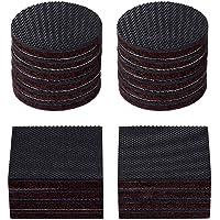 SAISN Furniture Pads Self Adhesive Felt Pads Anti Scratch Floor Protectors for Furniture Feet (20 Pack)