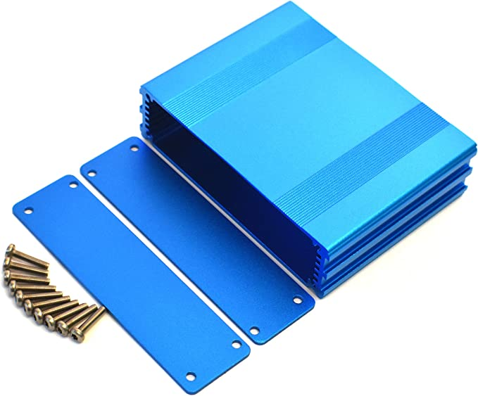 50x39x30mm Extruded Aluminum Project Enclosure Electronic Box Split Body