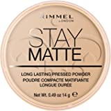 Rimmel Stay Matte Pressed Powder, Sandstorm, 0.49 Ounce (Pack of 2)