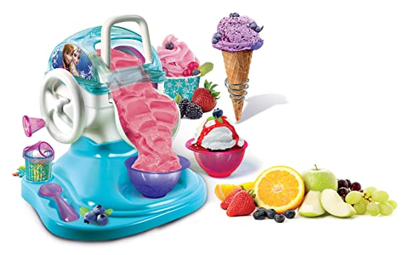 Disney Frozen - Fabrica de Helados (Clementoni 550913): Amazon.es: Juguetes y juegos