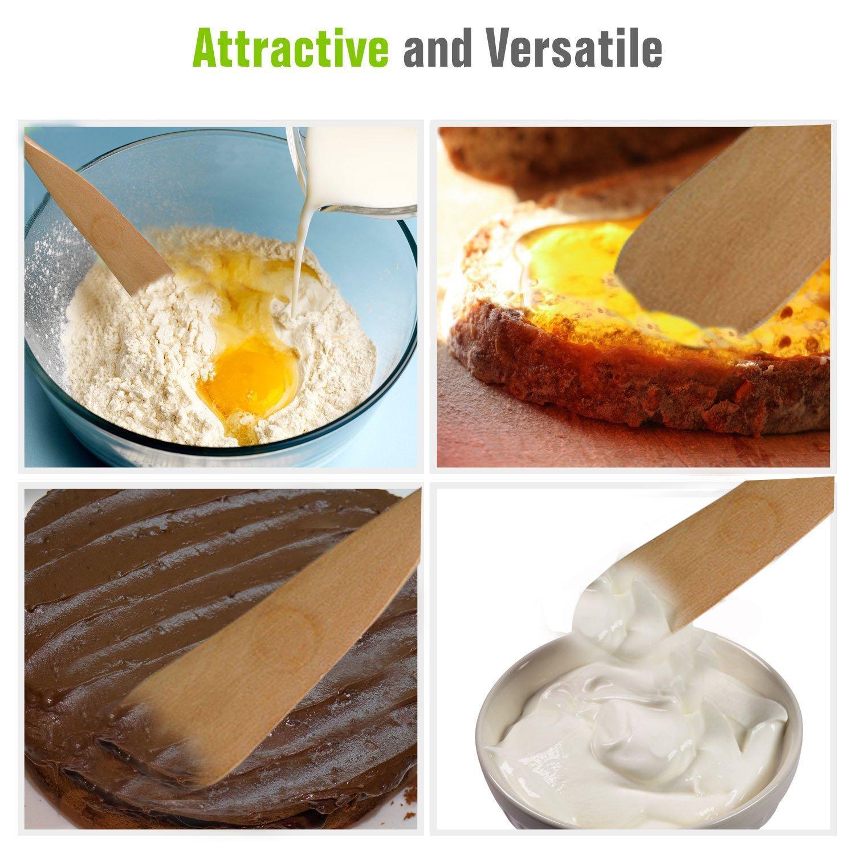 Fellibay - Juego de 5 cuchillos para mantequilla de queso, espátula de grado de restaurante, para mezclar hornear, decorar utensilios de cocina, ...
