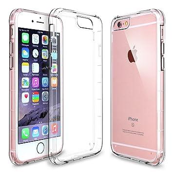 iPhone 6s caso, Hinpia iPhone 6 funda transparente Carcasa ...