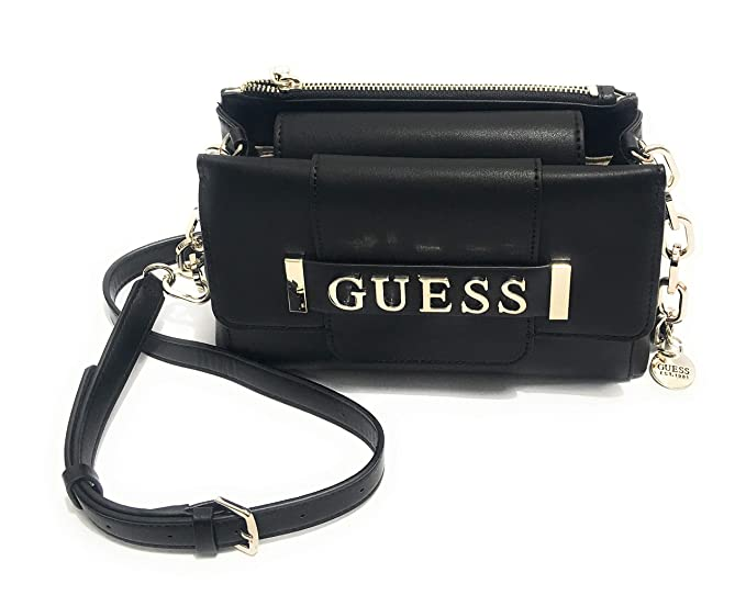 Tracolla Guess in ecopelle