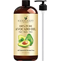 Handcraft Pure Avocado Oil - 100% Pure and Natural - Premium Quality Cold Pressed...