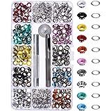 Bememo 300 Pieces Grommets Kit Metal Eyelets...
