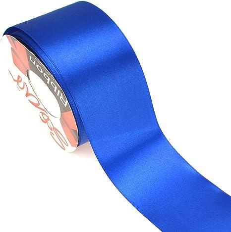 """Satin Edging Solid yg Burgundy Organza Ribbon 1.5/"""" Wide 25 Yd Yard Roll"""