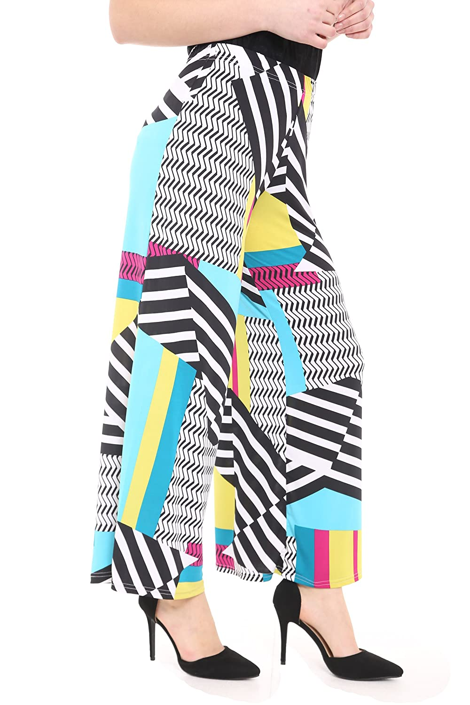 8893b463810 WearAll Plus Size Women s Palazzo Trousers (20   22