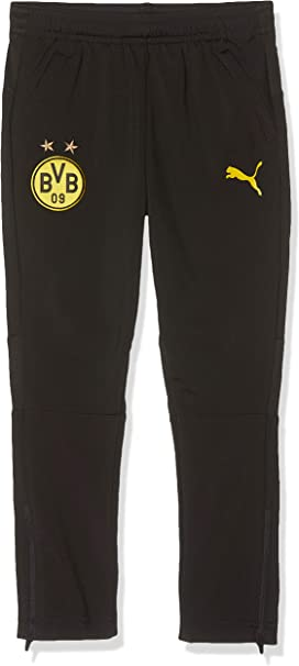 PUMA BVB Training Pants Jr with Zip Pockets Chándal, Unisex niños ...
