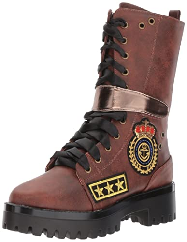 Penny Loves Kenny Nomad Folded Combat Boot (Women's) WHUXJM