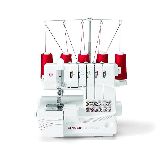SINGER Professional 5 - Máquina de coser (Eléctrico, Color blanco): Amazon.es: Hogar