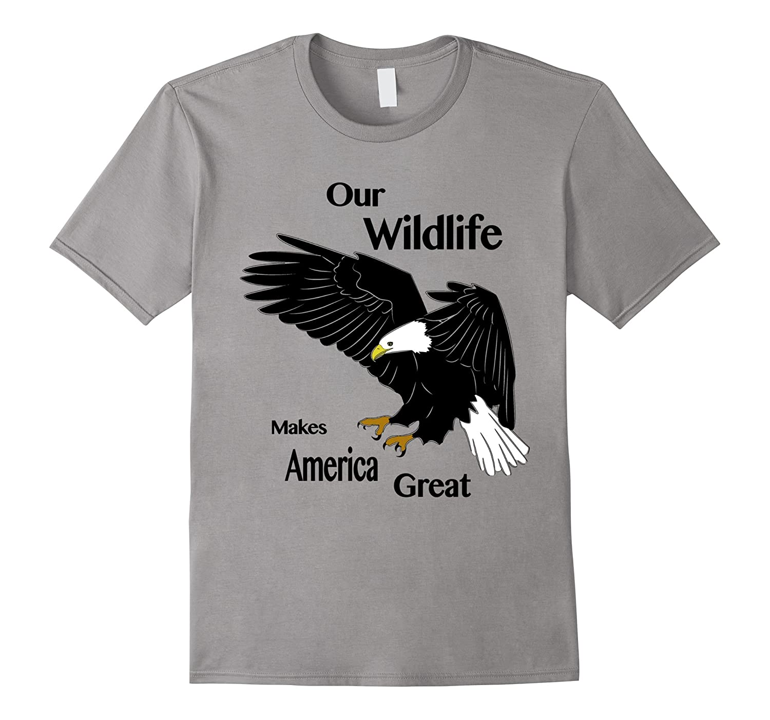 patriotic wildlife conservation t shirt fl