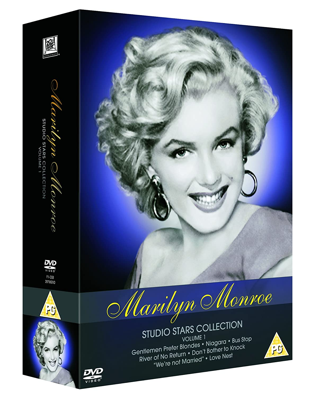 marilyn monroe studio stars collection vol 1 dvd amazon co uk