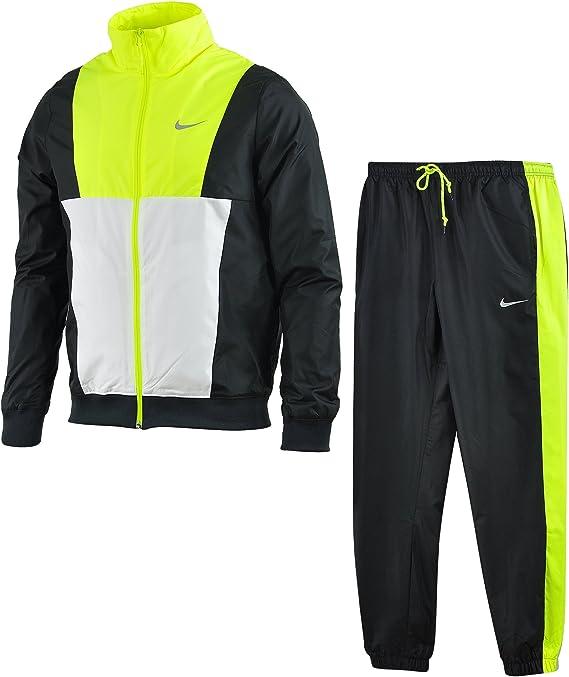 Nike LOI Track Suit - Chándal para Hombre, Color Negro/Blanco/Lima ...