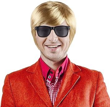 Balinco Set Aus Schlagerstar Heino Perücke Blond Sonnenbrille