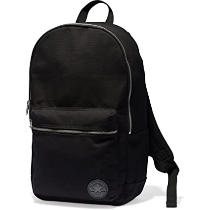 5d9386d857df Amazon.com  Converse All Star Core Plus Backpack School Shoulder Bag -  Black  Sports   Outdoors