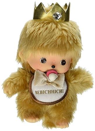 Sekiguchi Monchhichi – Muñeco 10th aniversario de oro Bebichhichi Baby Boy de peluche de peluche con