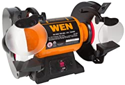 WEN 4286 8-Inch Slow Speed Lathe Chisels Bench Grinder