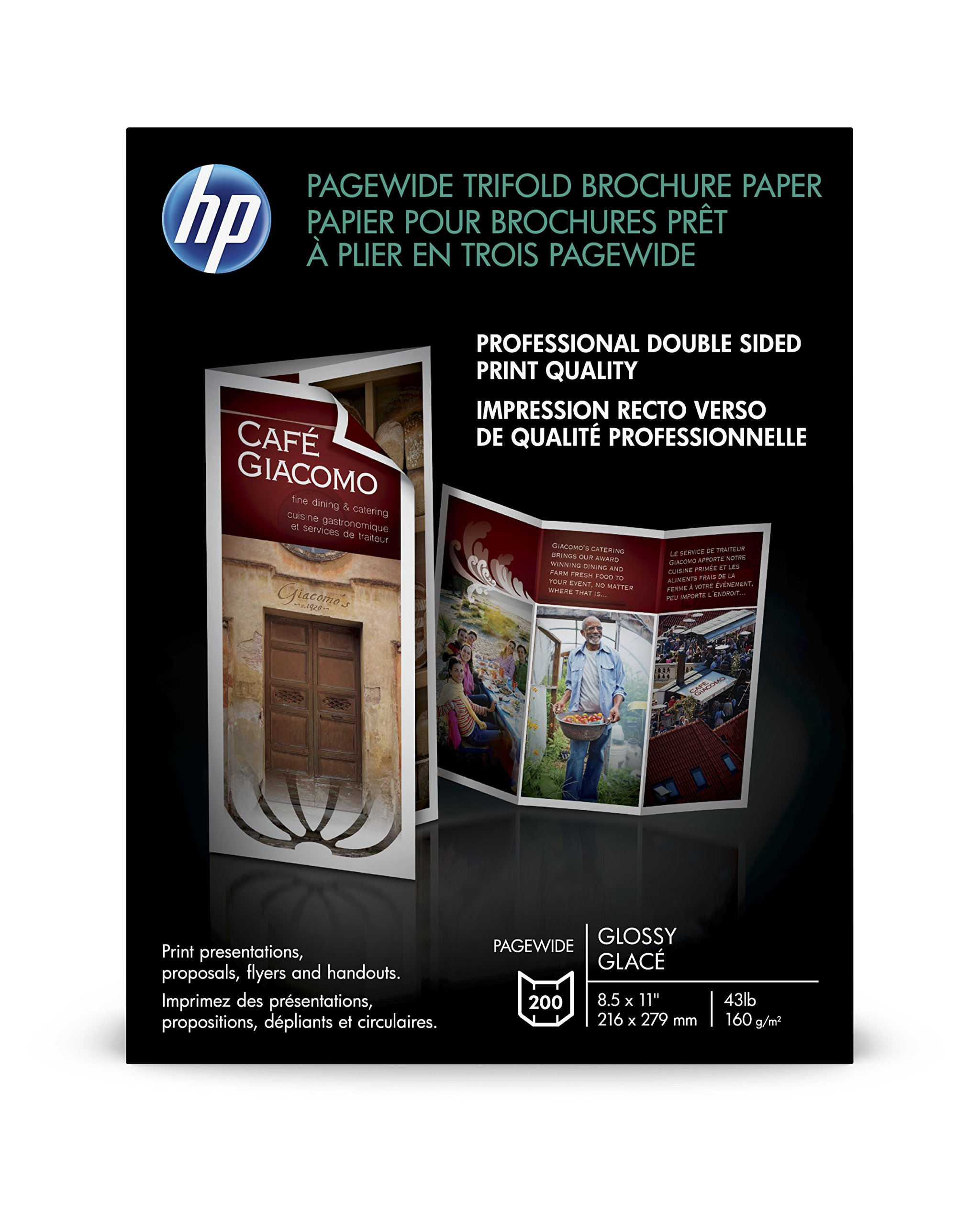 HP Double-Sided Glossy Brochure Paper (Z7S65A)