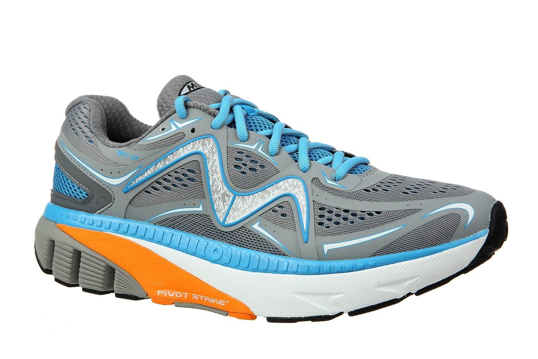 MBT Shoes Men's GT 17 Athletic Shoe Leather/Mesh Lace-up B01MSAONOU 8.5 Medium (D) US Men|Grey/Blue