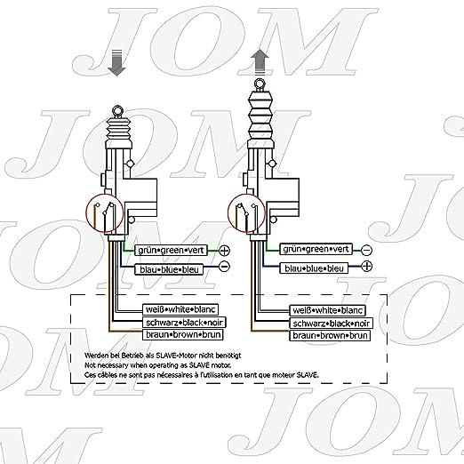 JOM 7103 Universal-Stellmotor, Master, 5-Polig, als Ersatz oder ...