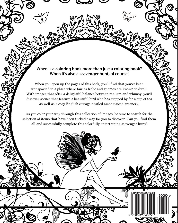 Enchanting English Garden: An Inkcredible Scavenger Hunt and ...