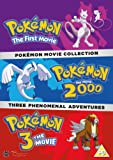 Pokemon Movie 1-3 Collection [3 DVDs] [UK Import]