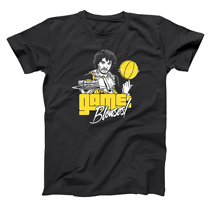 Game Blouses Funny Game Blouses Comedy Sketch Skit Prince Retro Old School Hiphop Hip Hop Urban Show Humor Mens Shirt