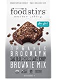 Foodstirs Organic Brooklyn Salted Chocolate Chip Brownie Mix 17.9 Ounce