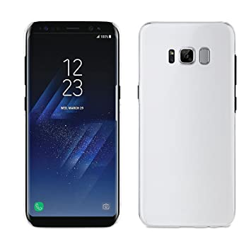 Muvit Cristal - Carcasa para Samsung Galaxy S8, Transparente ...