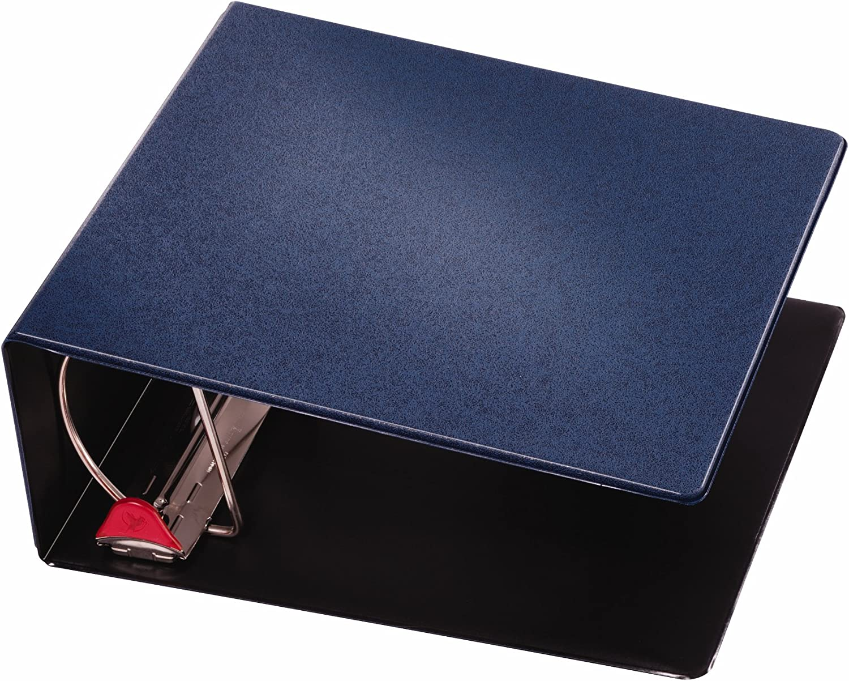 CRD18053 4-Inch Dark Blue Cardinal Prestige Locking Slant-D Ring Binder