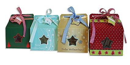 Caja de regalo Navidad embalaje caja cartón #1196
