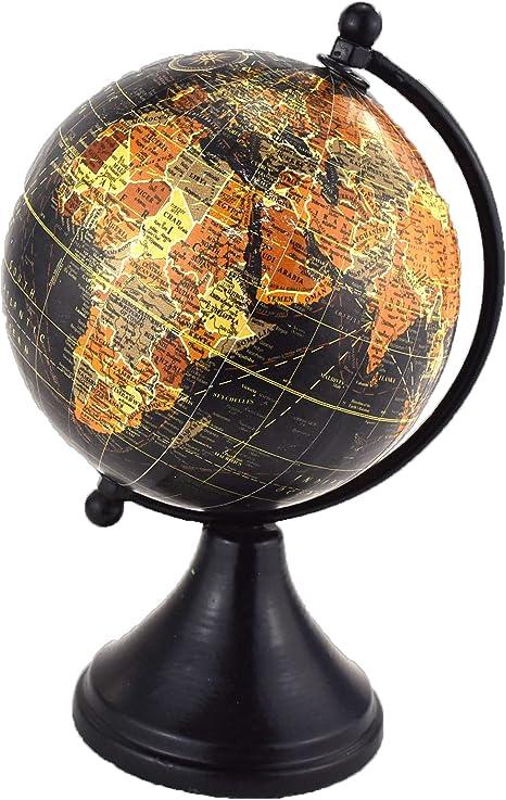 Harvey Makin Desk Globe World Map Planet Earth Geography Atlas Rotating Gift