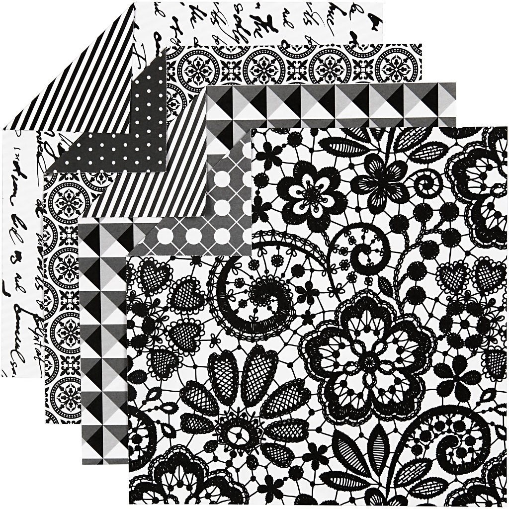 foglio 10x10 cm Carta origami 80 g Paris 50fogli asst.