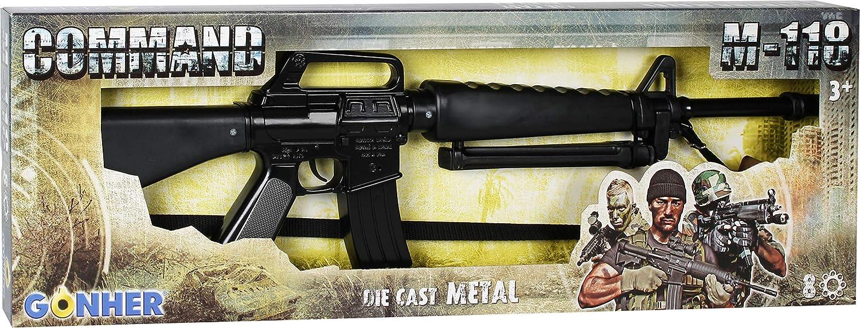 Gonher M-118 Rifle, 8 tiros, Negro